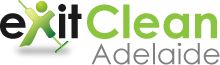 Exit Clean Adelaide Logo